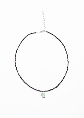 ADI MOSS AGATE NECKLACE