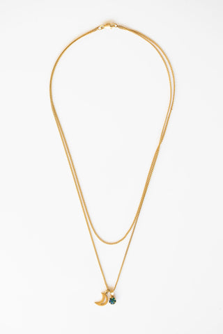 LUANA PALM CHOKER NECKLACE