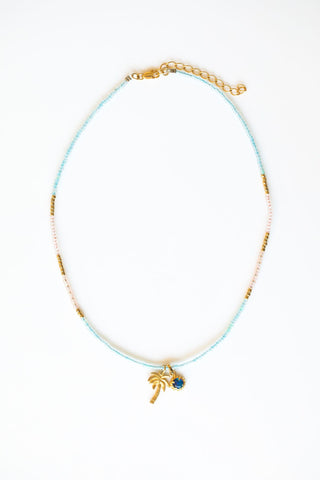 EMALIAH HORSESHOE OPAL NECKLACE
