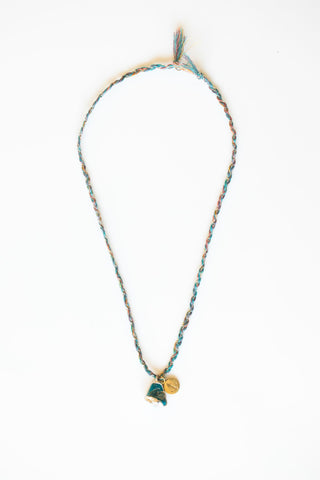 KAI TURQUOISE ANCHOR NECKLACE