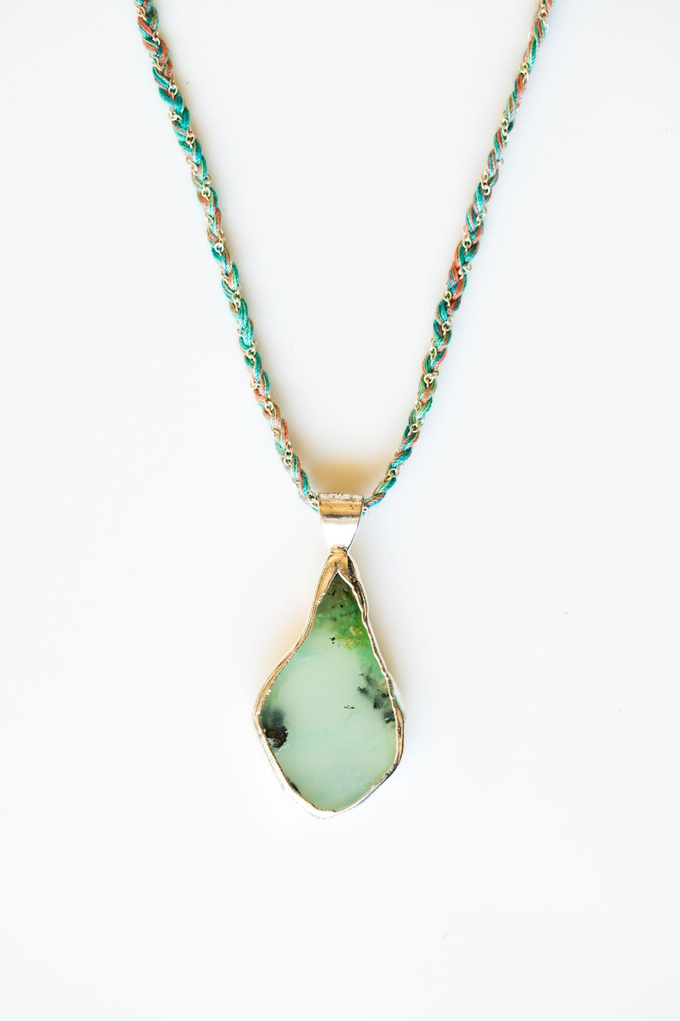 NALANI CHRYSOPRASE NECKLACE