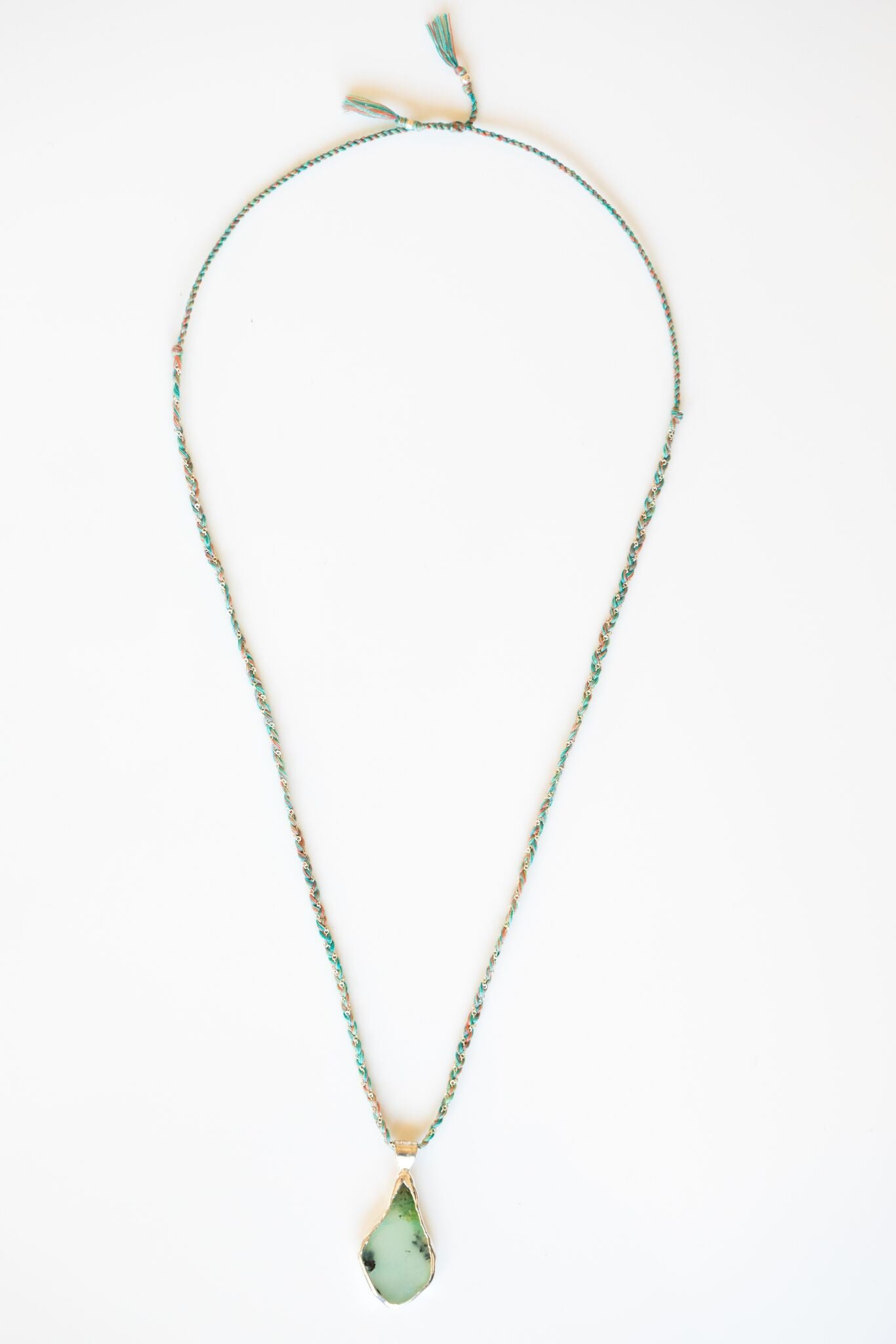 drop product image chrysoprase crysophrase dsc necklace long of rebekahgough