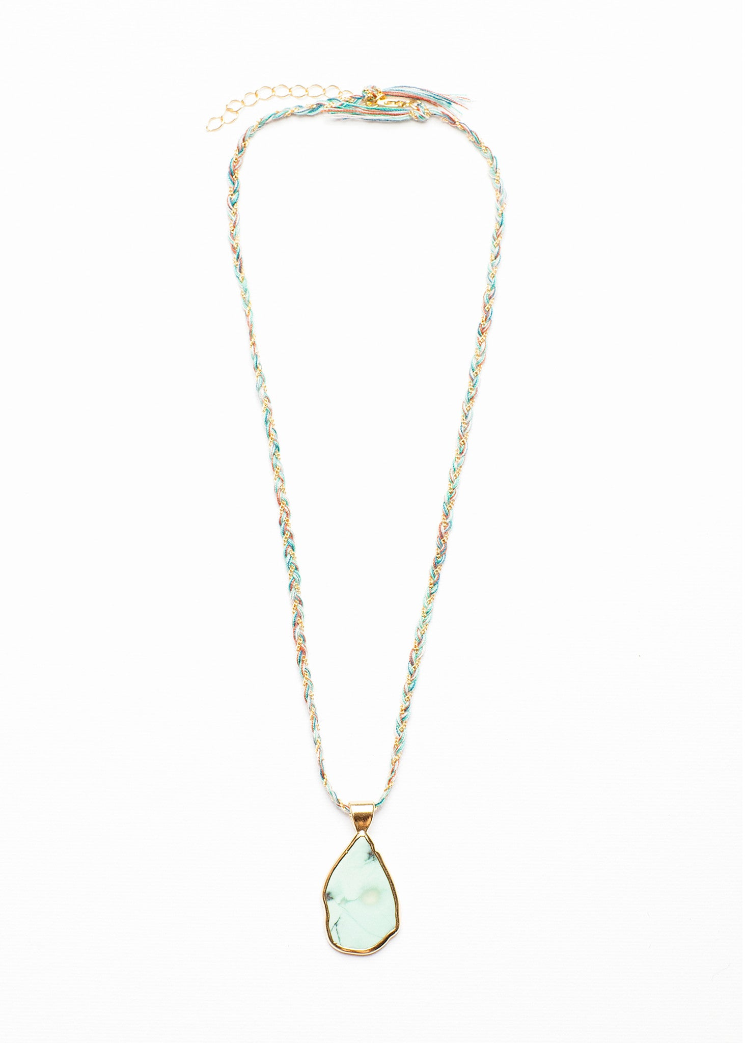 CINTRA CHRYSOPRASE NECKLACE