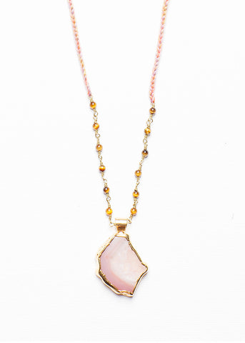 MAYA AGATE NECKLACE
