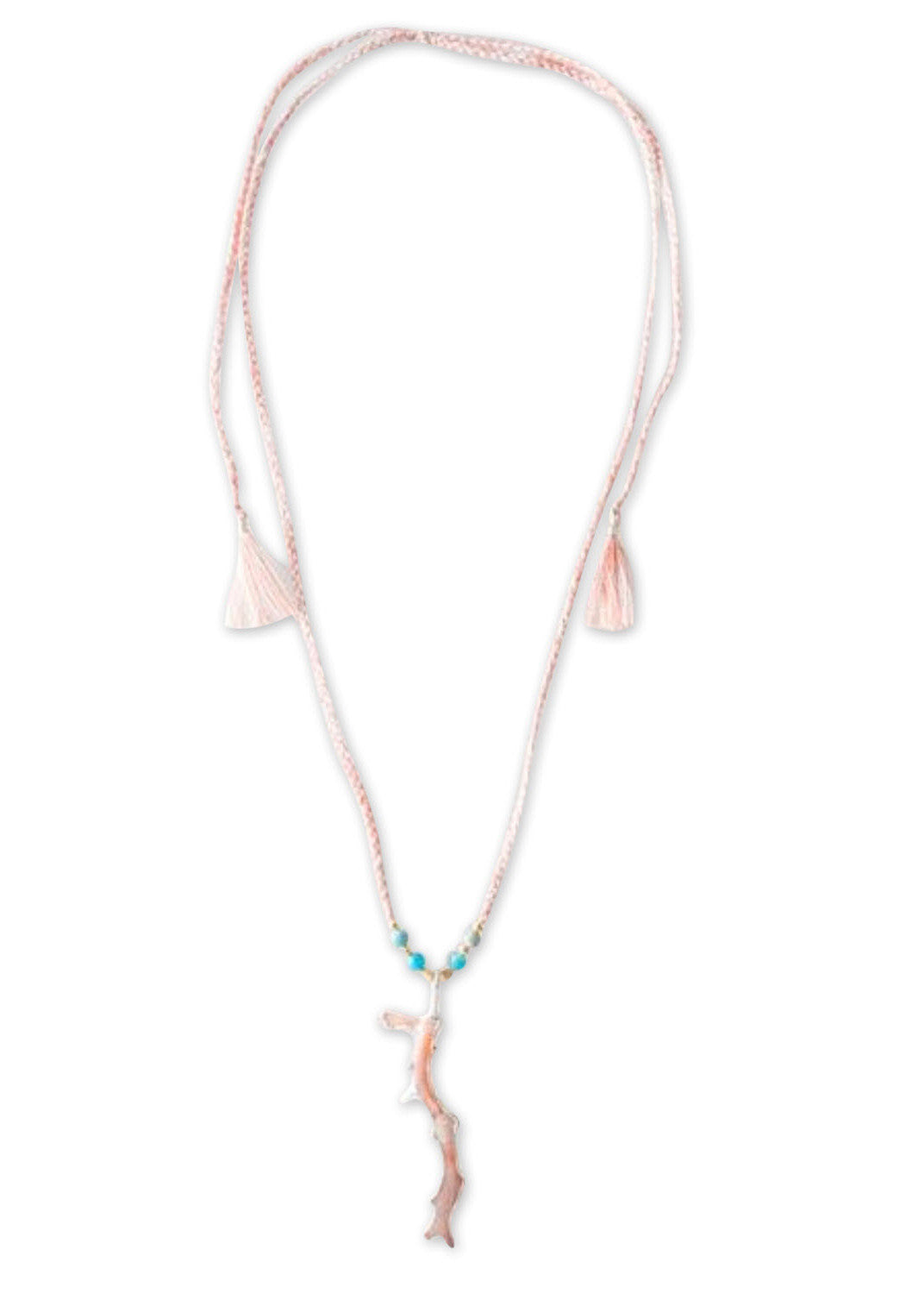KOBIN CORAL NECKLACE