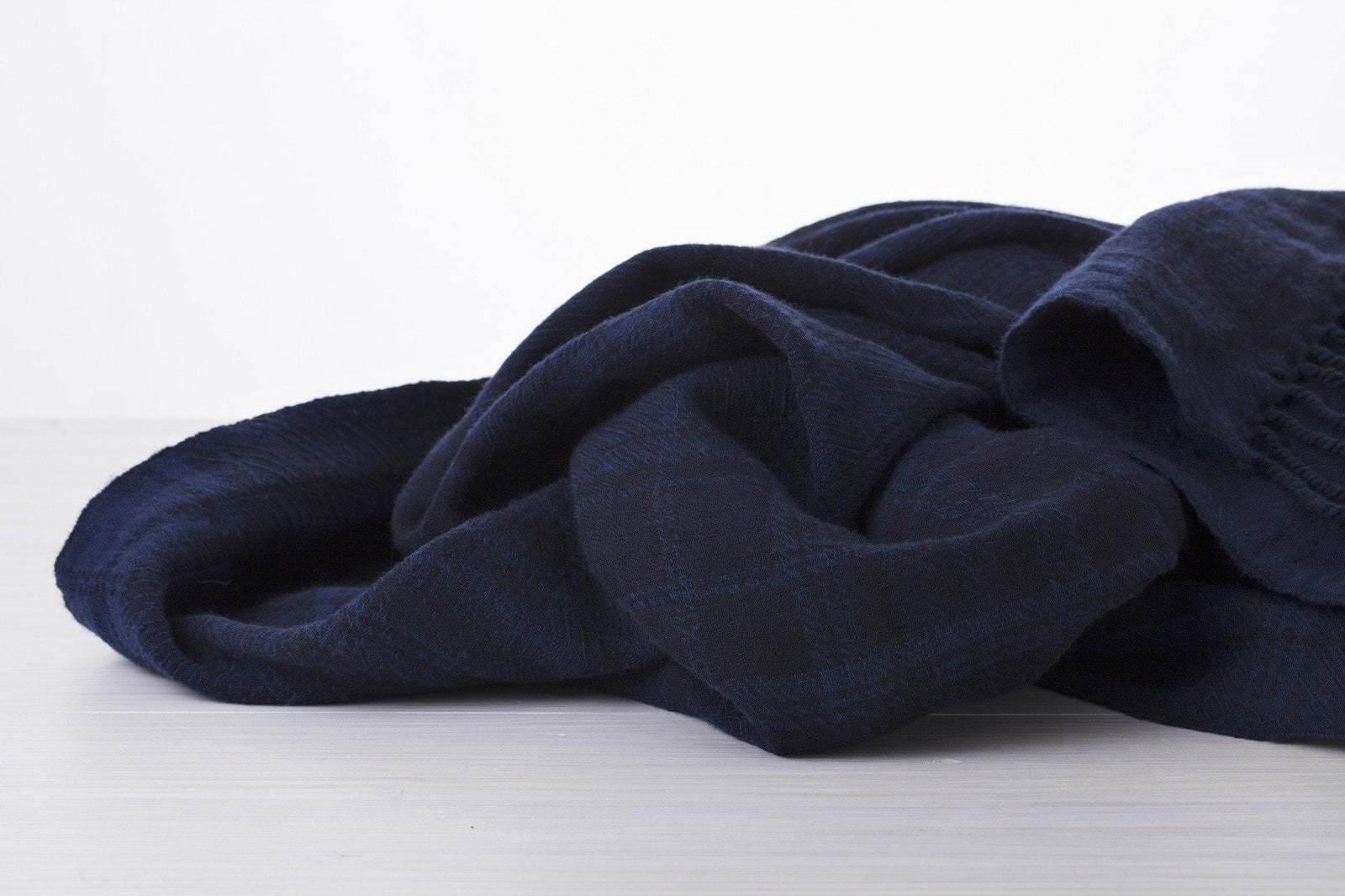 Blue Blue Blanket Plaid View 2