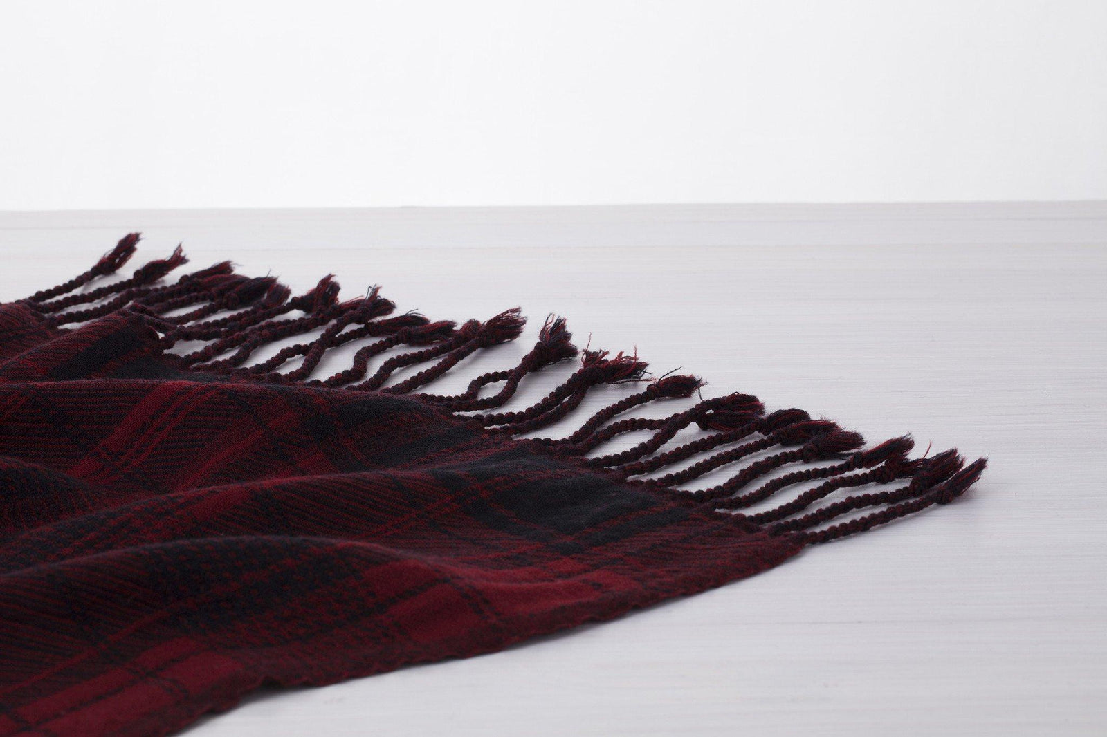 Red Black Blanket Plaid View 2