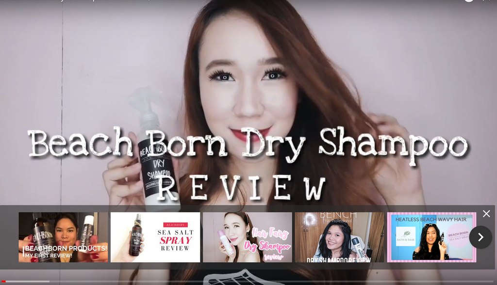 beachborn dry shampoo review
