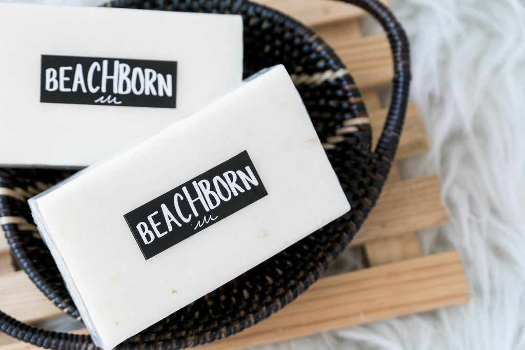 Oat Milk Soap - BEACH BORN