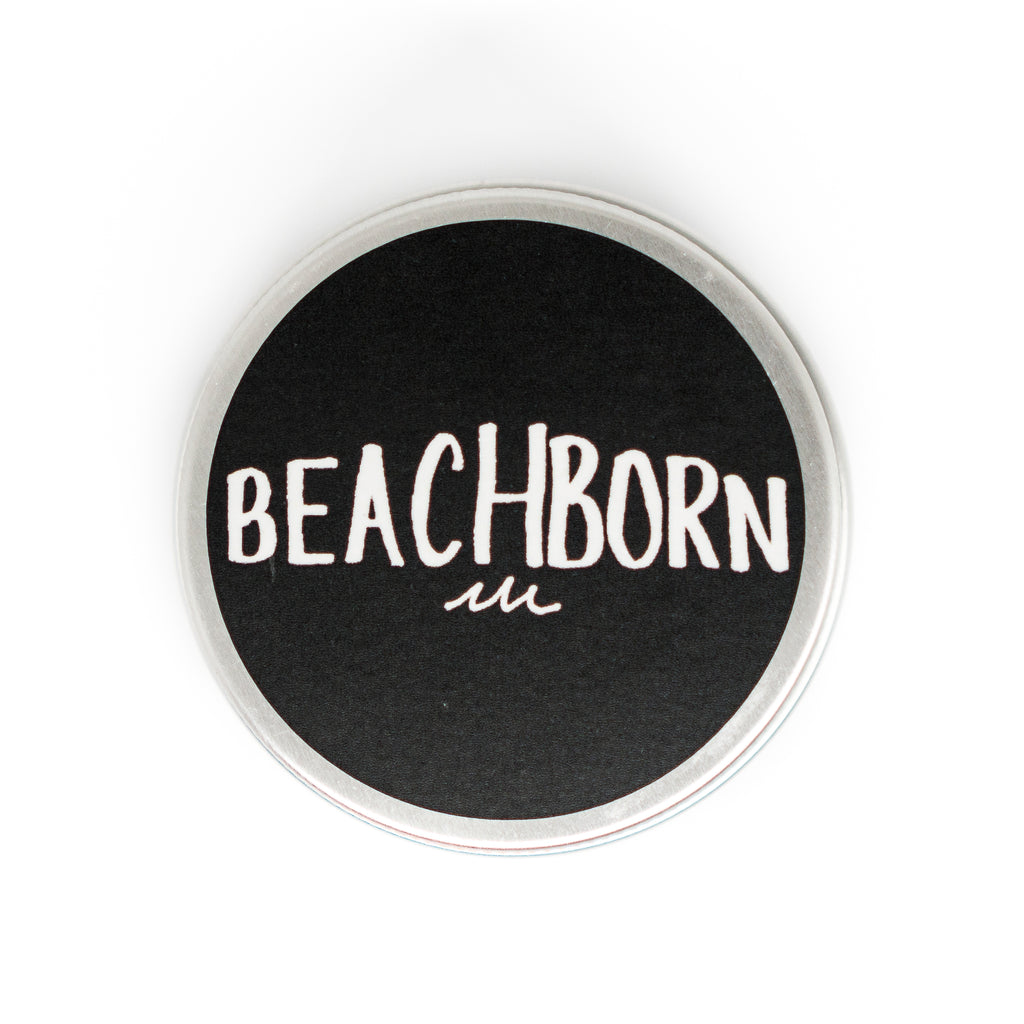 BeachBorn Round Travel Tin - BEACH BORN