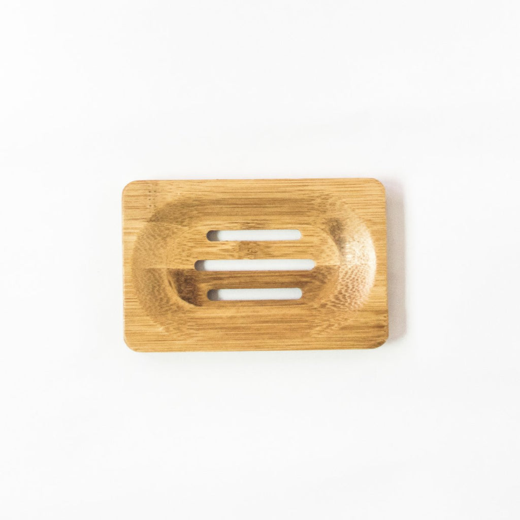 Bamboo Soap Dish Holder - BEACH BORN