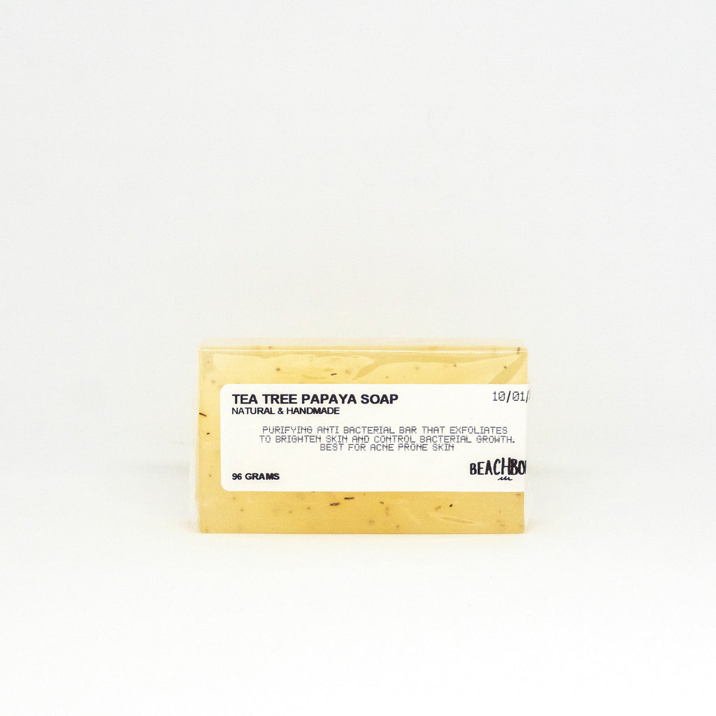 Tea Tree Papaya Soap - BEACH BORN