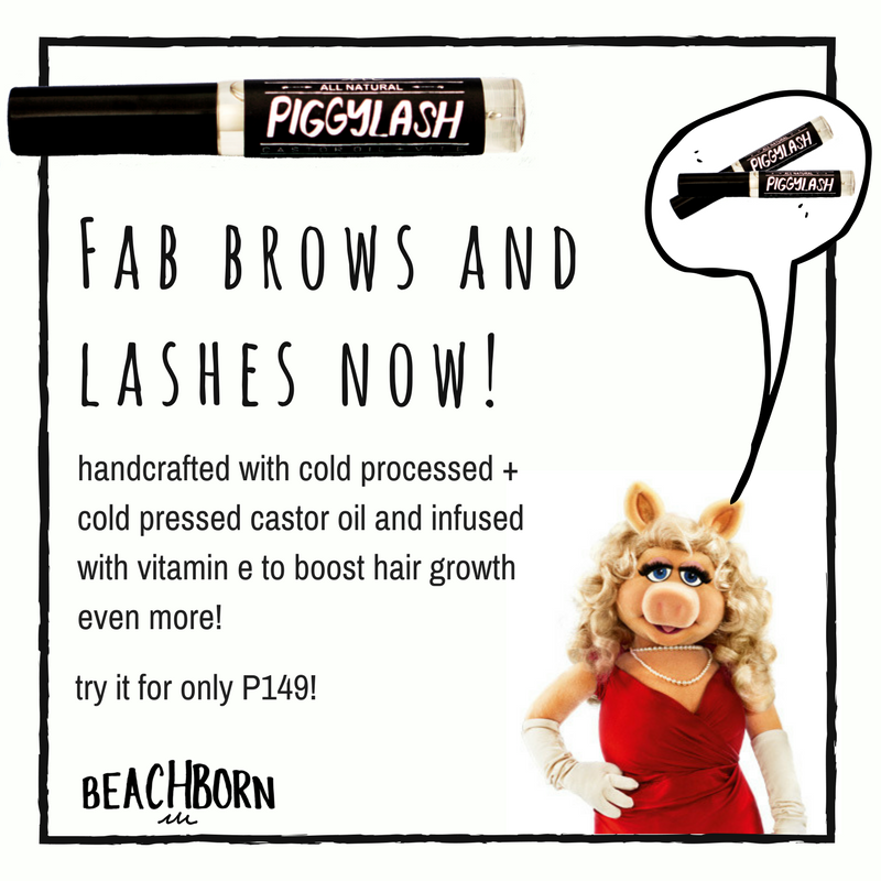 Piggylash Lash and Brow Serum - BEACH BORN