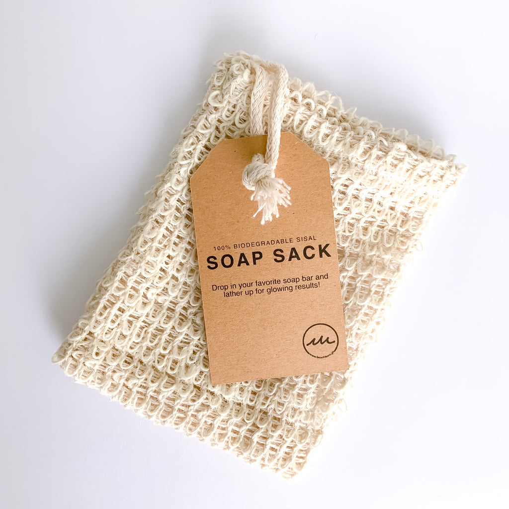 Sisal Soap Sack (soap saver) - BEACH BORN