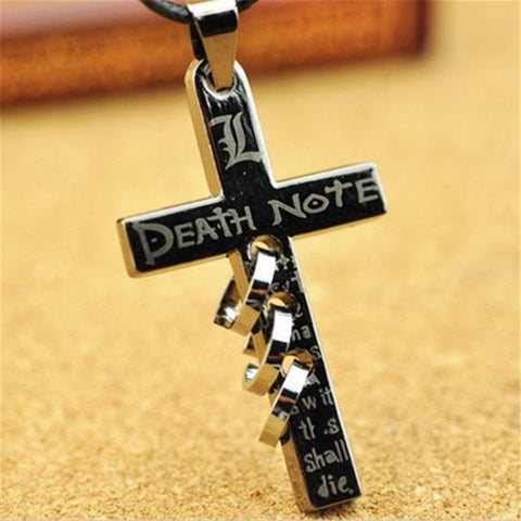 Death Note Cross Letter L