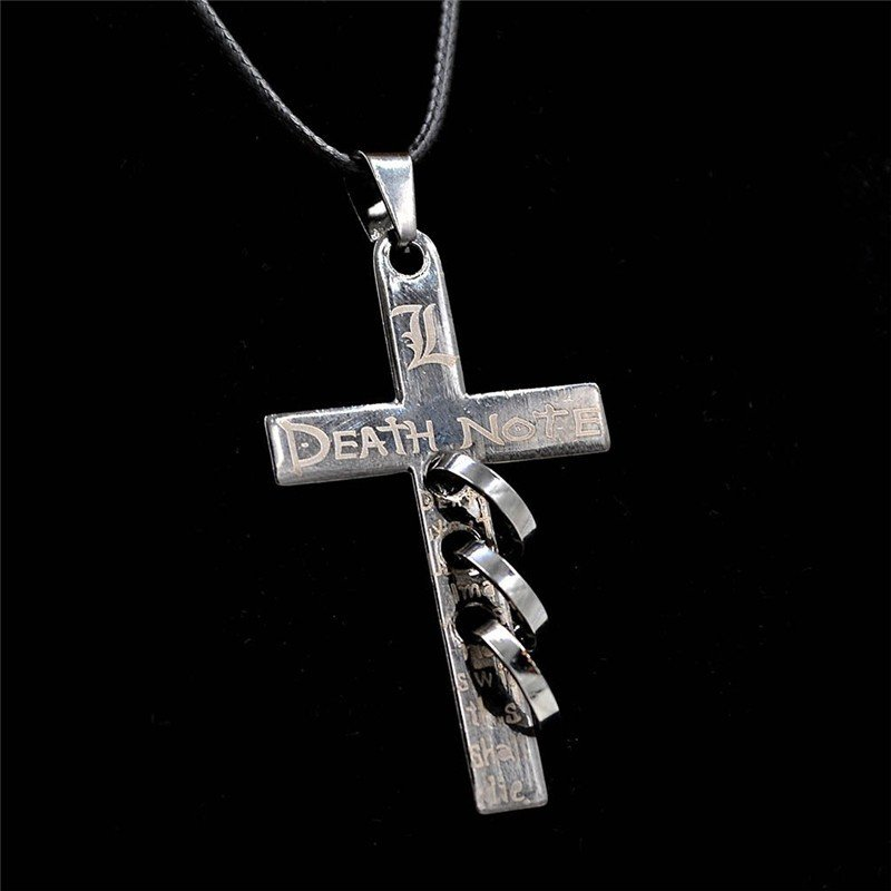 Death Note Letter L Cross