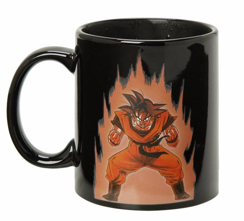 Goku Coffee Mug Changing Color