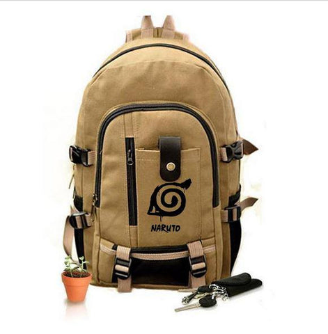 Naruto Backpack School Bags