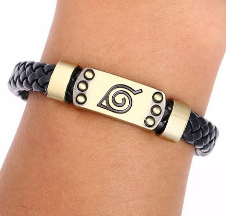 Naruto Braid Leather Bracelets