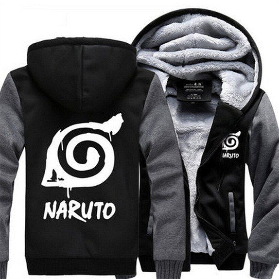 Naruto Jacket Assorted Insignia