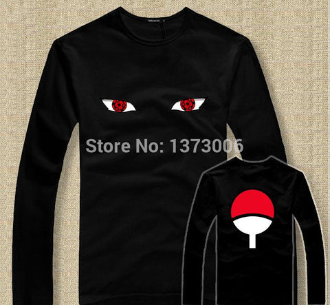 Naruto Long Sleeved T-Shirts Akatsuki
