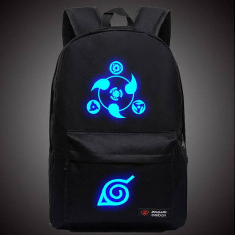 Naruto Luminous Travel Laptop Bag