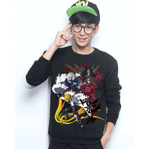 Naruto Shippuden Sweatshirts Assorted