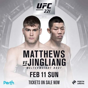 Jake Matthews, one of the Australians taking the UFC by storm