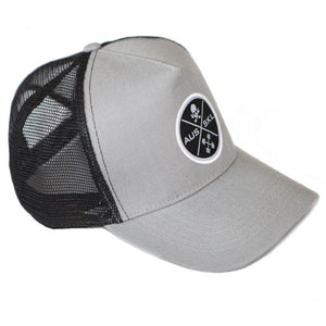 The Black Patch Mesh Back Cap