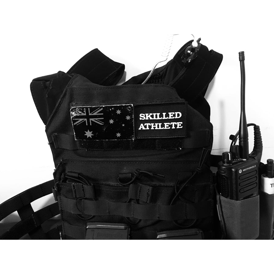 Skilled Athlete Velcro Patch