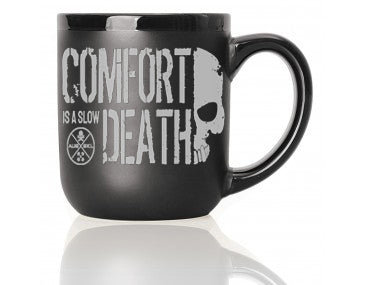 Comfortable Death Coffee Mug