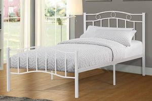 Merrion White Platform Bed