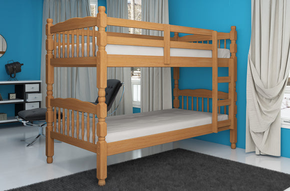 Colonial Solid Pine Bunkbed