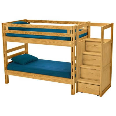Twin, Full or Queen  Crate Design Bunk Bed