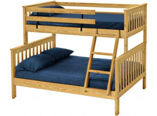 Twin/Full, Twin XL/Queen, Full XL/Queen Mission Bunk Bed