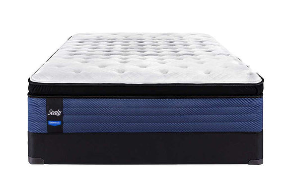 Sealy Posturepedic Winwood Queen Plush Mattress & Boxspring