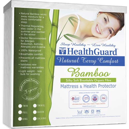 Breathable Bamboo Mattress Protector