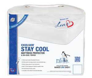 Excelsior Stay Cool  2 pc Mattress Protector