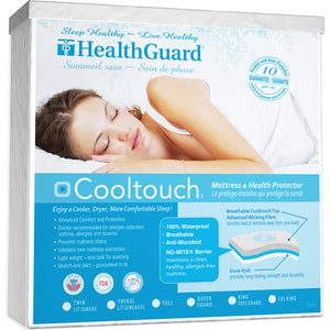Health Guard Jacquard Cooltouch Mattress Protector
