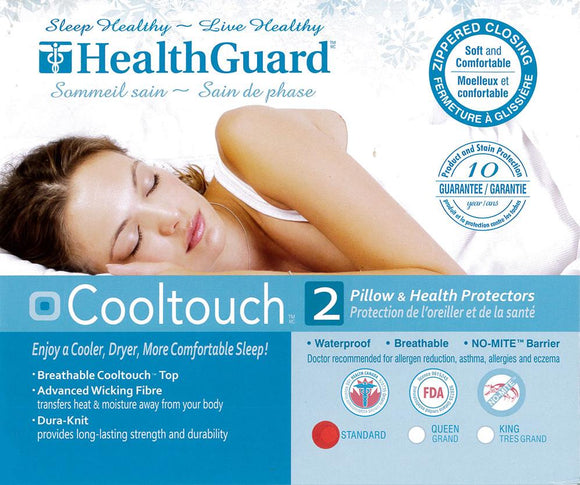 Health Guard Cooltouch Pillow Protectors (2)