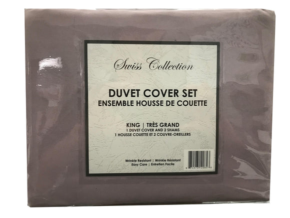 Duvet Cover Solid Colour Set