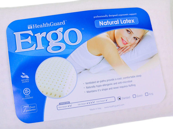 Ergo Natural Latex Queen Pillow