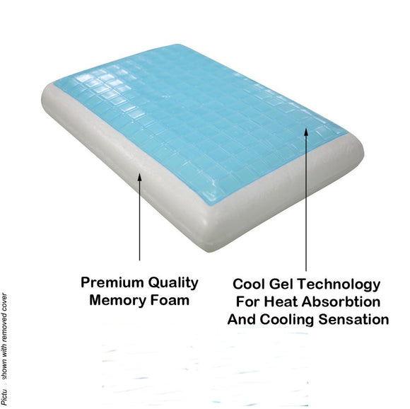 Advanced Gel Memory Foam Queen Pillow