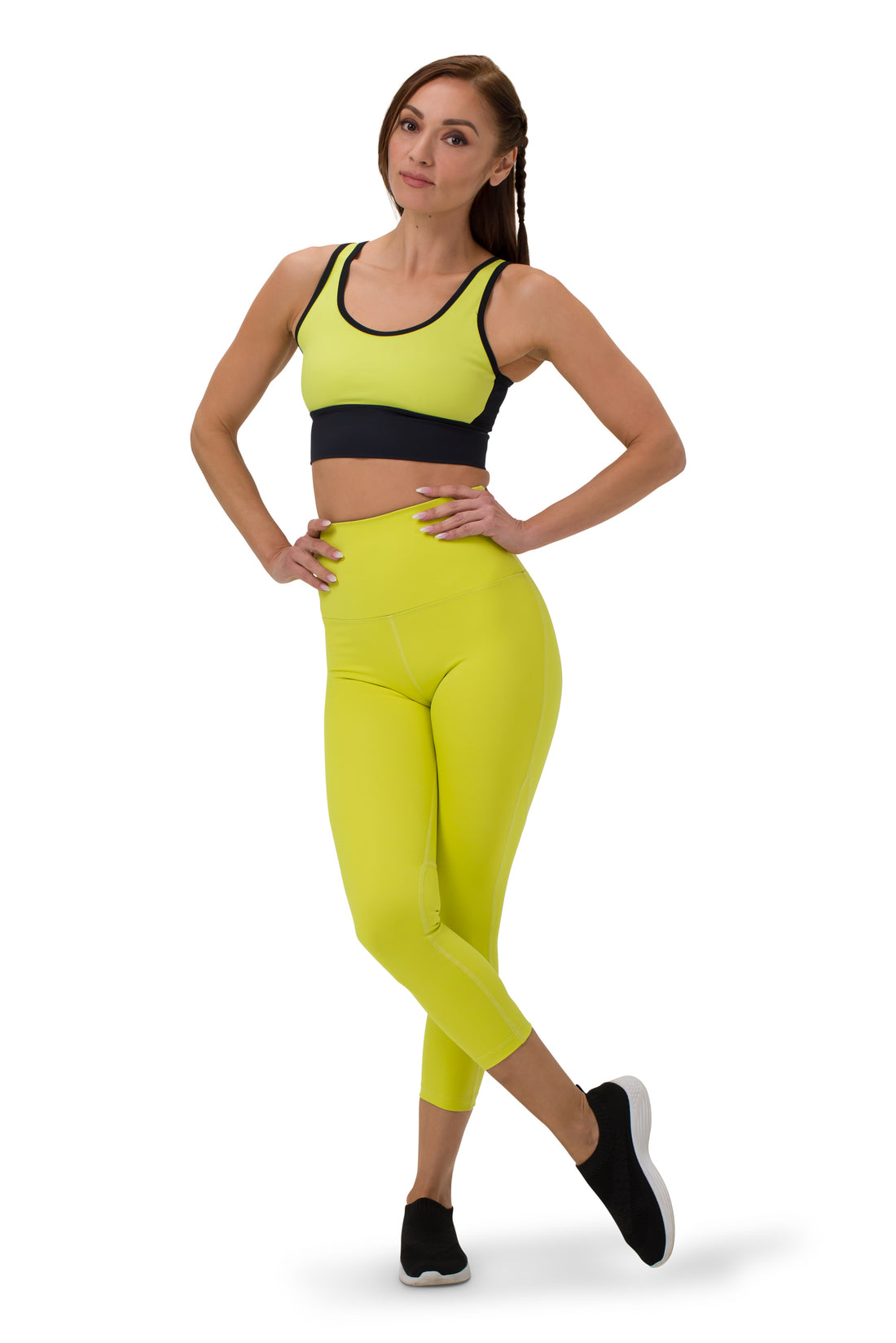 Run the Show Legging 7/8 - High Waisted - Enhanced Sport
