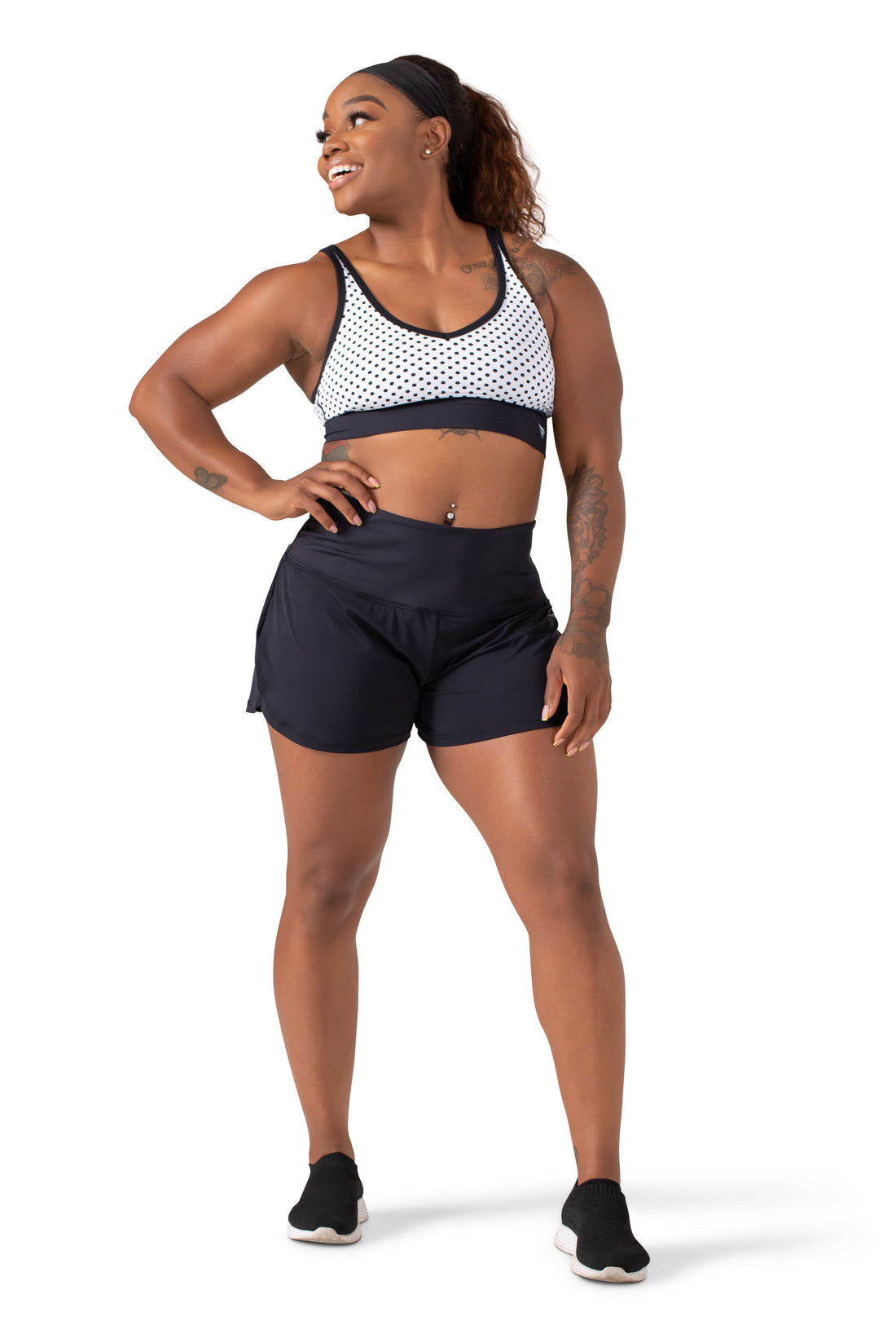 Feel the Flow Tech Short - High Waisted
