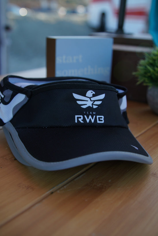 LIMITED EDITION! Team RWB Reflective Running Visor