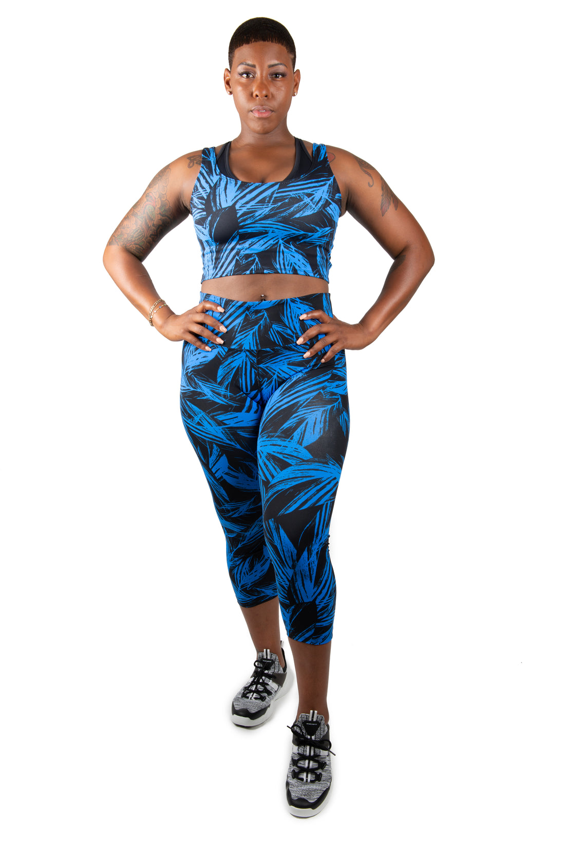 Fitted Crop Tech Top - Enhanced Sport