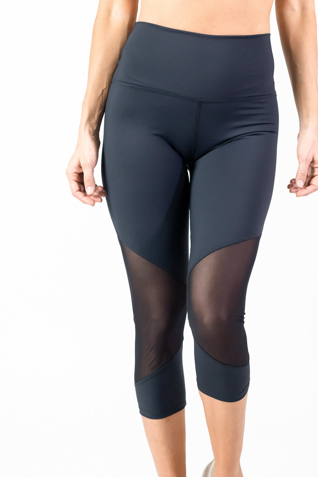Compression In Motion Tech Legging 7/8 - High Waisted - Mesh - Final Sale
