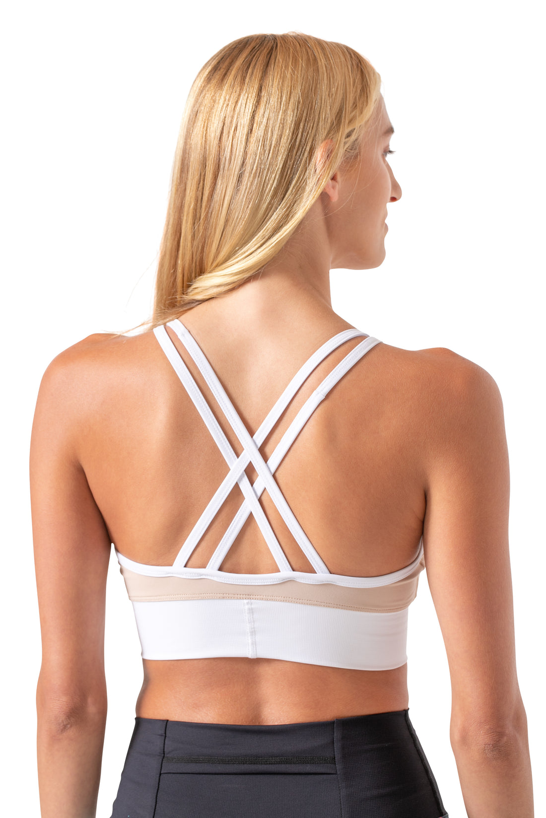 Let's Get Strappy Tech Bra - Lightweight