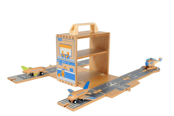 ship-me-toys - Boxset - Airport - Tiger Tribe - Wooden Toys